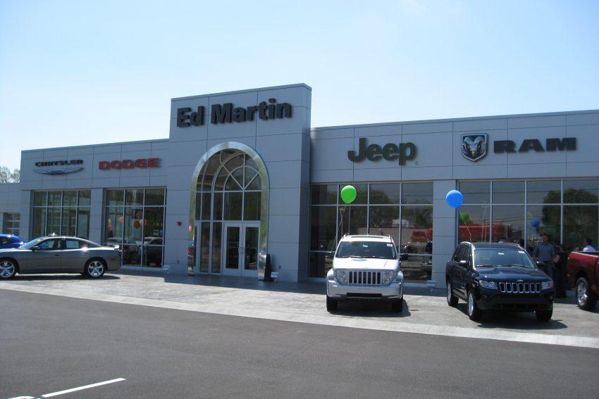 Ed Martin Chrysler, Jeep, Dodge, Ram - Capitol Construction