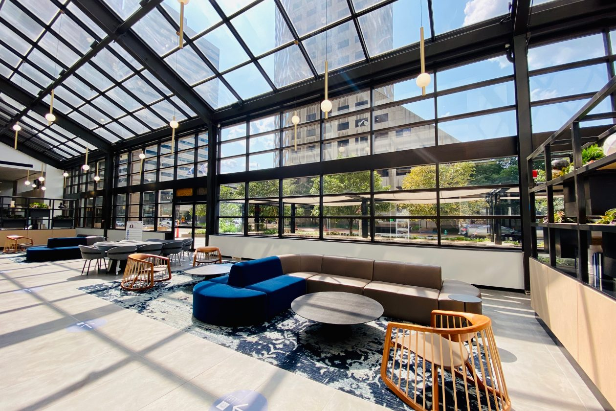 Capital Center Lobby & Patio Remodel